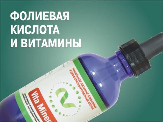 Фолиевая кислота и витамины